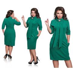 2019 New Dress Women Plus Size Female Ladies Turtleneck 6XL Oversized Sexy Knee Length Party Dress color 02# 6xl