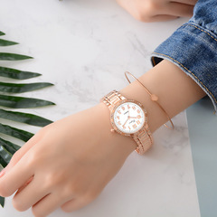 Watches Women Luxury Gold Quartz Watch Elegant Wristwatch Gifts For Lady rose gold
