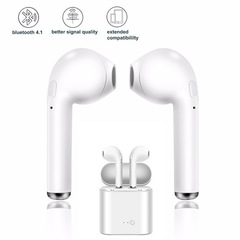 Best selling wireless Bluetooth headset stereo 5.0 sports headphones in-ear earphones call music white