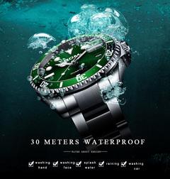 Top BrandLuxury Men's Watch 30m Waterproof Date Clock Male Sports Watches Men Quartz Wrist Watch green