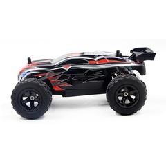 Motors Drive High Speed Racing KidGirl Children Remote Control Car Model Dirt Bike Vehicle Toy Black red 22CM