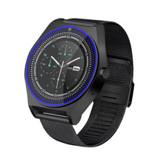 Explosion models N9 smart watch photo surface screen card Bluetooth touch screen black