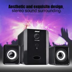 Wired Bluetooth 2-in-1 Speaker Desktop Computer Notebook Mobile Phone Small Speaker black Wired Bluetooth
