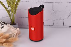 Wireless Bluetooth Speaker Fabric Portable Outdoor Card Audio Subwoofer Gift red double speaker