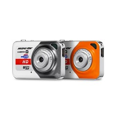 Mini Camera MINIDV X6 Mini Camera HD Digital Camera Orange One size