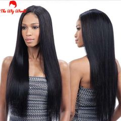 New Fashion Synthetic Wigs Hair Black straight hair black
