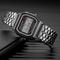 Watch Men's Creative Watches Luxury LED Digital Clock Men Fashion Black Rose Golden black