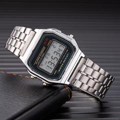 Watch Men's Creative Watches Luxury LED Digital Clock Men Fashion Black Rose Golden silver