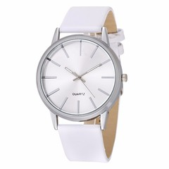 Casual Quartz Watch Men's Watches Wrist Watch Male Clock white