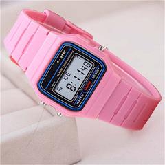 Watches Men New Fashion Sports Waterproof Back Light LED Digital Watch Present Gift For Women Men pink