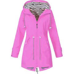 New charge clothing outdoor mountaineering clothing women's coat rose red 5xl