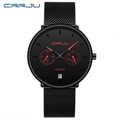 Crrju new men's watch Star Fashion Business Watch red needle
