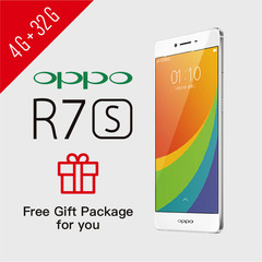 Smart Phone Refurbished OPPO R7s 4G+32G FHD 1920x1080 NFC Google Services support UMTS & LTE 4G+32G Silver