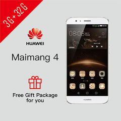 SmartPhone Refurbished HUAWEI Maimang4 3G+32G Google Services Installed Support UMTS & LTE 3GB+32GB Silver