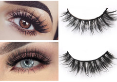 4pcs of 5 Pairs Mixed Styles 3D Mink Hair False Eyelashes 20 pairs in total Natural Long Reusable 3030