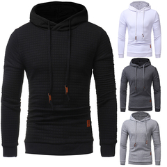Men Sports Casual Wear Zipper Fashion Hoodies Fleece Jacket Sweatshirts Spring Autumn Winter Coat white XXXXL