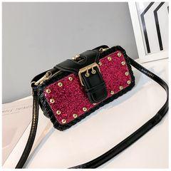 High quality Handbags Women's Cross body Bags Messenger Shoulder Bag for Women Shining Silver bling 4 20*10*5CM