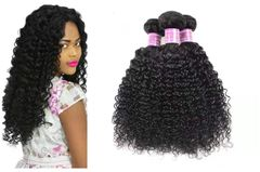 CFH kinky curly human hair extension Curly Hair Extension  Natural Color 100g/pc natural black 18inch