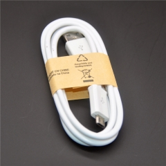 High quality 1m v8 Micro Charging Cable for Samsung Galaxy S3 S4 for LG G3 G4 For Android Phone White