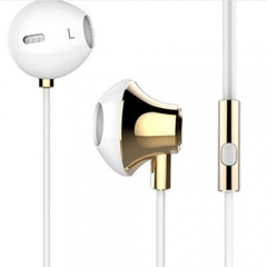 3.5mm Jack in ear stereo listener earphones for iphone and Android Infinix /Cubot gold