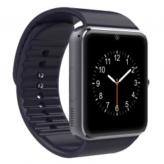 Smart Watch GT08 Phone Clock with Sim Card Slot Push Message Bluetooth WristWatch Android System black one size