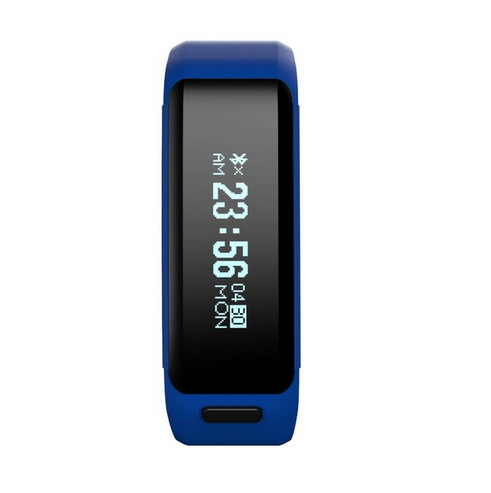 NO.1 F1 Bluetooth 4.0 Sports Smart Wristband Fitness Tracker IP68 blue one size