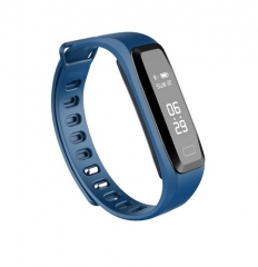 G15 0.86 inch Waterproof Smart Band Blood Pressure Heart Rate Monitoring blue one size