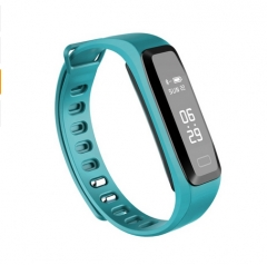 G15 0.86 inch Waterproof Smart Band Blood Pressure Heart Rate Monitoring lightblue one size