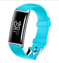 X9 Smart Bracelet Heart Rate Smart Band Blood Pressure Monitor Smart blue one size