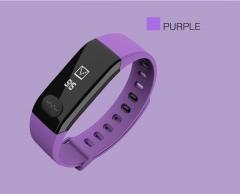 Smart Band E29 Smart Wristband Waterproof Sports Bracelet Blood Pressure Heart Rate Tracker Watch purple one size