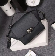 New Lady Women Handbag Shoulder Bags Tote Purse Satchel Wome Black one size