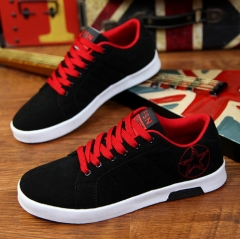 Fashion sneakers  For Men Shoe Male Canvas Man Winter Fashion Man Casual Shoes Men's Shoes red 43