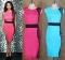 Polished Womens Elegant Patchwork Contrast 2017 Slim Gracel Fashion Work Office Business Party blue XS