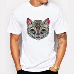Men's T-Shirts Funny Print T-Shirts FASHION O-Neck Men's Basic T-Shirts Casual Cotton T-shirt picture 01 8