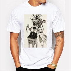 Transformers Men's Funny Print T-Shirts O-Neck Men's Clothing Basic T-Shirts Casual Cotton T-shirt white 8