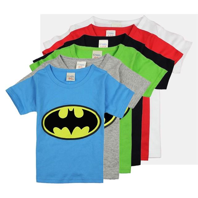 ec505cd1 Summer Fashion Batman Boy Top Printed Baby Boy T-shirt Short Sleeve ...