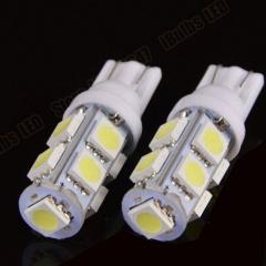 2X 9SMDC 12V Led 10 5050 Auto Car Side Wedge Tail Light/Turn Signal Lamp Bulb