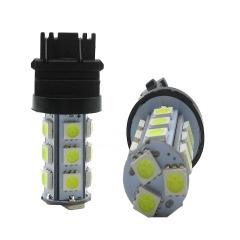 2X T25 5050 18smd White Car Light Lamp Bulb Car Stoplight Auto brake Light