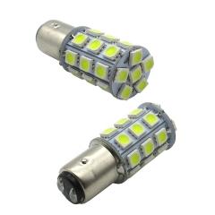 2X 1157 5050 27smd White Stop lamp Car Brake Light Lamp Bulb