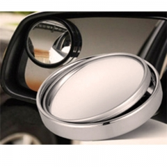 360°Rotate Adjustable Stick On Mirror Wide Angle Convex Rear Side View Blind Spot Mirror for Car