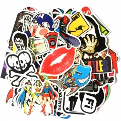 Strong Attachment Stickers Car Cartoon Stickers Use For Car Motorcycle Mobile Phone Cup Computer