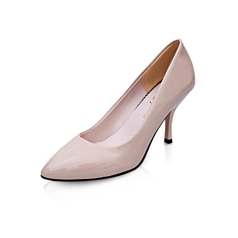 58288176d Fashion Woman Pointed Toe High Heels pumps Women single simple ...