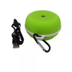 Portable Outdoor Sport Wireless Bluetooth Stereo Speaker for iPad/iPhone6/5/MP3/MP4/CD/PC/MAC/PSP Green 3.4*5.7*8cm