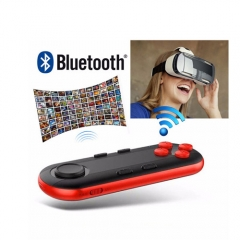 Wireless Bluetooth VR Remote Controller with Selfie Camera Shutter for Mobile Phone/Tablet/TV Box/PC Black 3.4*5.7*8cm