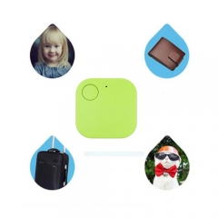 Bluetooth Tracker Child Bag Wallet Pet Key Finder Locator Anti-lost Alarm Green 3.4*5.7*8cm