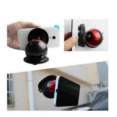 Universal Car Window Windshield Dashboard Suction Cup Mount for Phone GPS Red