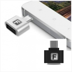 OTG Cable USB OTG Adapter Micro USB to USB Converter Black