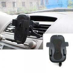 Anti-Slip Car Use Air Vent Phone Bracket 360 °Rotation Black