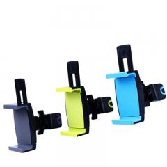 360° Adjustable Rotating Headrest Car Back Seat Mount Holder for Mobile Phone Green