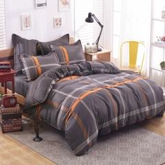 Bedroom Sets 100%Polyester 4pcs Duvet Cover Sheet Bed Linen Bedclothes Pillowcase size 6*6 Gentleman 5*6